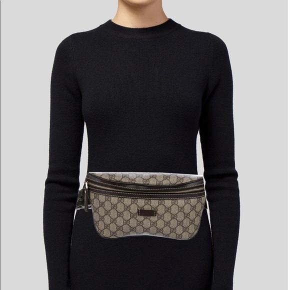 b74226c85a8746 Gucci Handbags - GUCCI Monogram GG supreme Belt bag/ Fanny pack